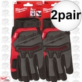 Milwaukee 48-22-8731 2x Pair Demolition Gloves - Medium