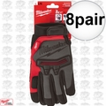 Milwaukee 48-22-8732 8x Pair Demolition Gloves - Large