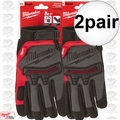 Milwaukee 48-22-8735 2x Pair Demolition Gloves - small
