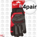 Milwaukee 48-22-8735 4x Pair Demolition Gloves - small