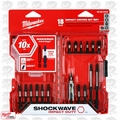 Milwaukee 48-32-4403 18 Piece Shockwave Impact Driver Bit Set