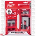 Milwaukee 48-32-4403 1x 18pc Shockwave Impact Driver Bit Set