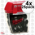 Milwaukee 48-32-4412 4x 25pk #2 Phillips Shockwave Impact Insert Bits