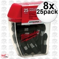 Milwaukee 48-32-4412 8x 25pk #2 Phillips Shockwave Impact Insert Bits