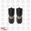 "Milwaukee 48-32-4441 2pk #1 ECX Shockwave 1"" Insert Bits"