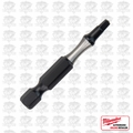 "Milwaukee 48-32-4472 #2 Square Recess Shockwave 2"" Power Bit"