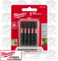 "Milwaukee 48-32-4491 #1 EXC 2"" Shockwave Power Bits"