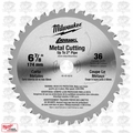 "Milwaukee 48-40-4016 6-7/8"" 36 Teeth Ferrous Metal Circular Saw Blade"