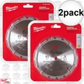 "Milwaukee 48-40-4105 2pk 5-3/8"" 16 Carbide Teeth Circular Saw Blade"