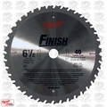 "Milwaukee 48-40-4112 6-12"" 40 Carbide Teeth Circular Saw Blade"
