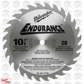 "Milwaukee 48-40-4170 10-1/4"" x 28 Tooth Carbide Circular Saw Blade"