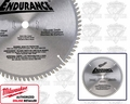 Milwaukee 48-40-4172 Carbide Circular Saw Blade