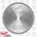 Milwaukee 48-40-4510 90T Carbide Tipped Dry Cut Circular Saw Blade