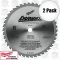 "Milwaukee 48-40-4515 8"" 42 Tooth Metal Cutting Saw Blade"