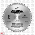 "Milwaukee 48-40-4520 8"" x 50T Circular Saw Blade"