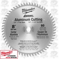 "Milwaukee 48-40-4530 8"" 60 Teeth Aluminum Circular Saw Blade"