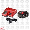 Milwaukee 48-59-1813 M18 Red Lithium 3.0 AH Starter Kit