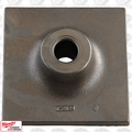 "Milwaukee 48-62-4055 1-1/8'' Hex 8"" x 8"" Tamper Plate (Plate Only)"