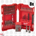 Milwaukee 48-89-1561 8x 95pc Drill and Driver Set