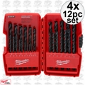 Milwaukee 48-89-2802 4x 29 pc Thunderbolt Black Oxide Drill Bit Set
