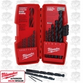 Milwaukee 48-89-2803 15 Pc Thunderbolt Black Oxide HSS Drill Bit Set