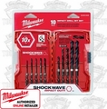 Milwaukee 48-89-4445 Shockwave Shank Drill Bit Set