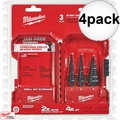Milwaukee 48-89-9221 3 Piece Step Drill Bit Set #1, #2, #4