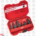 Milwaukee 48-89-9224 6 Piece Step Drill Bit Set