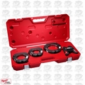 "Milwaukee 49-16-2690 Force Logic Press Ring 2 1/2"" - 4"" Kit Open Box"