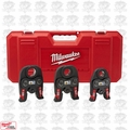 "Milwaukee 49-16-2696 Black Iron Press 1/2"" - 1"" Kit Open Box"