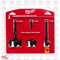 Milwaukee 49-22-0030 3 pc Plumber's Selfeed Bit Kit
