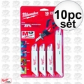 Milwaukee 49-22-0220 M12 Hackzall Blade-10 PC. Set
