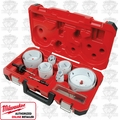 Milwaukee 49-22-4105 Electricians Ice Hardened Hole Saw Kit