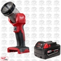 Milwaukee 49-24-2735 M18 XC 4.0 Battery & Worklight