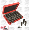 "Milwaukee 49-66-4484 ShockwaveTM 1/2"" Drive Impact Socket Set"
