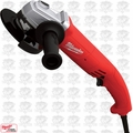 "Milwaukee 6121-30 4-1/2"" Trigger-Grip Small Angle Grinder-Paddle w/ Lock-On O-B"