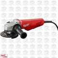 "Milwaukee 6146-31 11 Amp 4-1/2"" Small Angle Grinder Paddle, No-Lock O-B"
