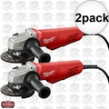 "Milwaukee 6146-31 2pk 11 Amp 4-1/2"" Small Angle Grinder Paddle, No-Lock"