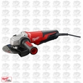 "Milwaukee 6161-30 6"" 13 Amp Small Angle Grinder with Paddle Lock-On"