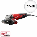 "Milwaukee 6161-30 2pk 6"" 13 Amp Small Angle Grinder"