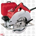 Milwaukee 6391-21 7-1/4'' Tilt-Lok Left Blade Circular Saw with Case