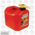 No Spill 1450 No Spill 5 Gallon (CARB 50 States Compliant) Gas Can (Honda 06176)