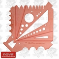 Nova Lathes 10051 10 in 1 Chuck Gauge Accessory