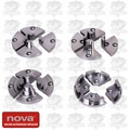 Nova Lathes 6027 4 Piece Mini Jaw Set