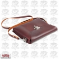 Occidental Leather 1155 iPad Carry Case Premium Oxblood Colored Leather