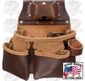 Occidental Leather 5018DB Tool Bag 3 Pouch Pro
