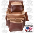 Occidental Leather 5062 Deep Fastener Bag with Holders