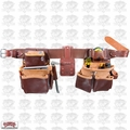 Occidental Leather 5080DB Medium Tool Belt Pro Framer w/Double Outer Bag O-B