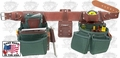Occidental Leather 8080DB Medium Tool Belt OxyLights Framer Package