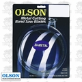 "Olson 82164 64-1/2"" x 1/2"" x 10/14 TPI Metal Cutting Band Saw Blade"